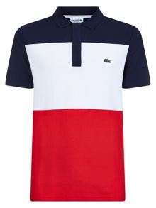Lacoste Lacoste Color Block Polo Shirt