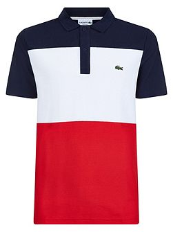 Lacoste Color Block Polo Shirt
