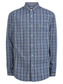 Lacoste Lacoste Check Woven Shirt