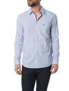 Lacoste Striped Poplin Shirt