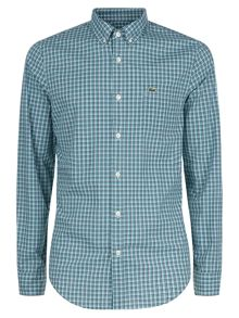 Lacoste Lacoste Slim Fit Mini Check Shirt
