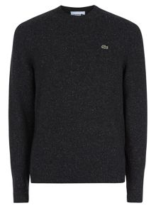Lacoste Crew Neck Wool Jumper