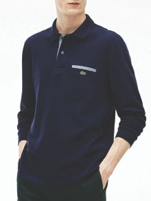 Lacoste Lacoste Contrast Pocket Polo Shirt