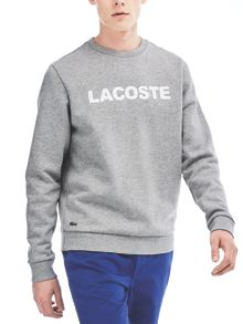 Lacoste Branded Crew Neck Sweatshirt
