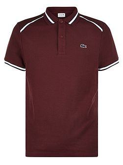 Lacoste Contrast Collar Polo Shirt
