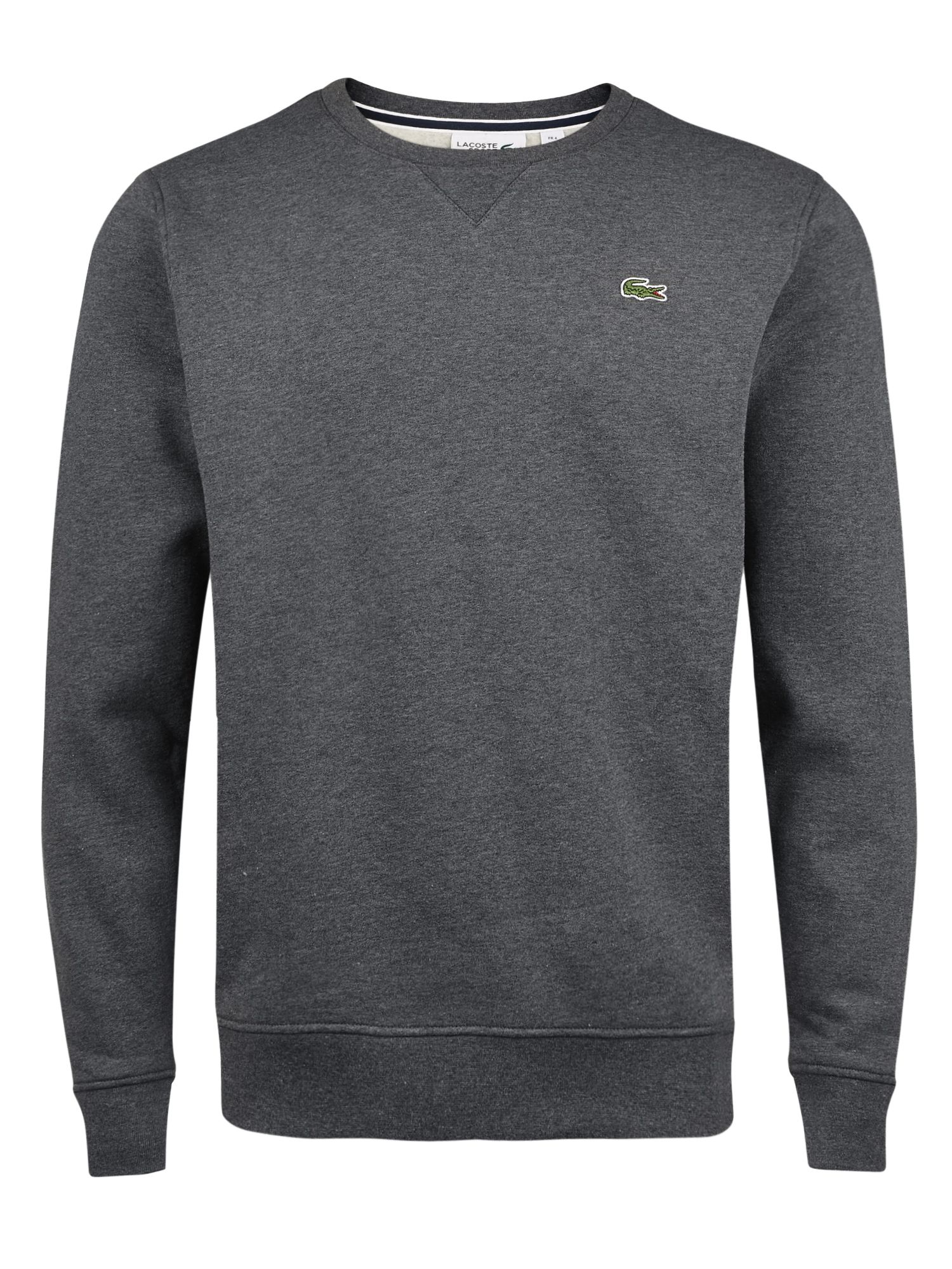 Men's Lacoste Lacoste Crew Neck Fleece Sweatshirt, Grey
