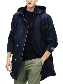 Lacoste Hooded Waterproof Parka