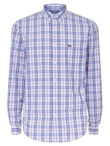 Lacoste Checked Poplin Shirt
