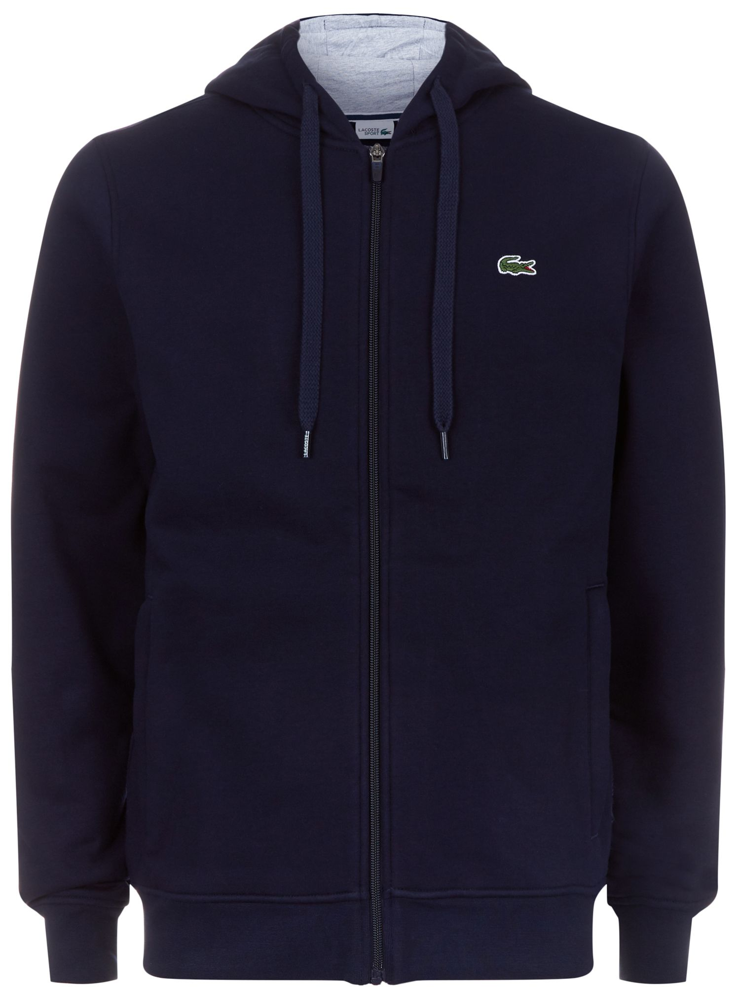 Men's Lacoste Lacoste Hooded Fleece Sweatshirt, Blue Silverlic
