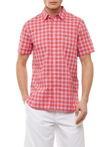 Lacoste Checked Cotton Shirt