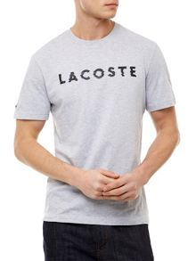 Lacoste Crew Lettered Neck T-shirt