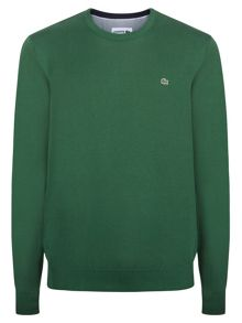 Lacoste Crew Neck Cotton Jumper
