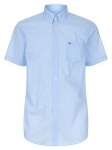 Lacoste Mini Check Cotton Shirt