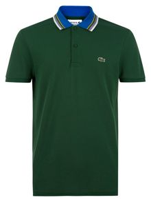 Lacoste Polo with Contrast Collar