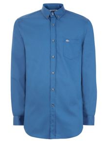 Lacoste Long Sleeved Mini Pique Cotton Shirt