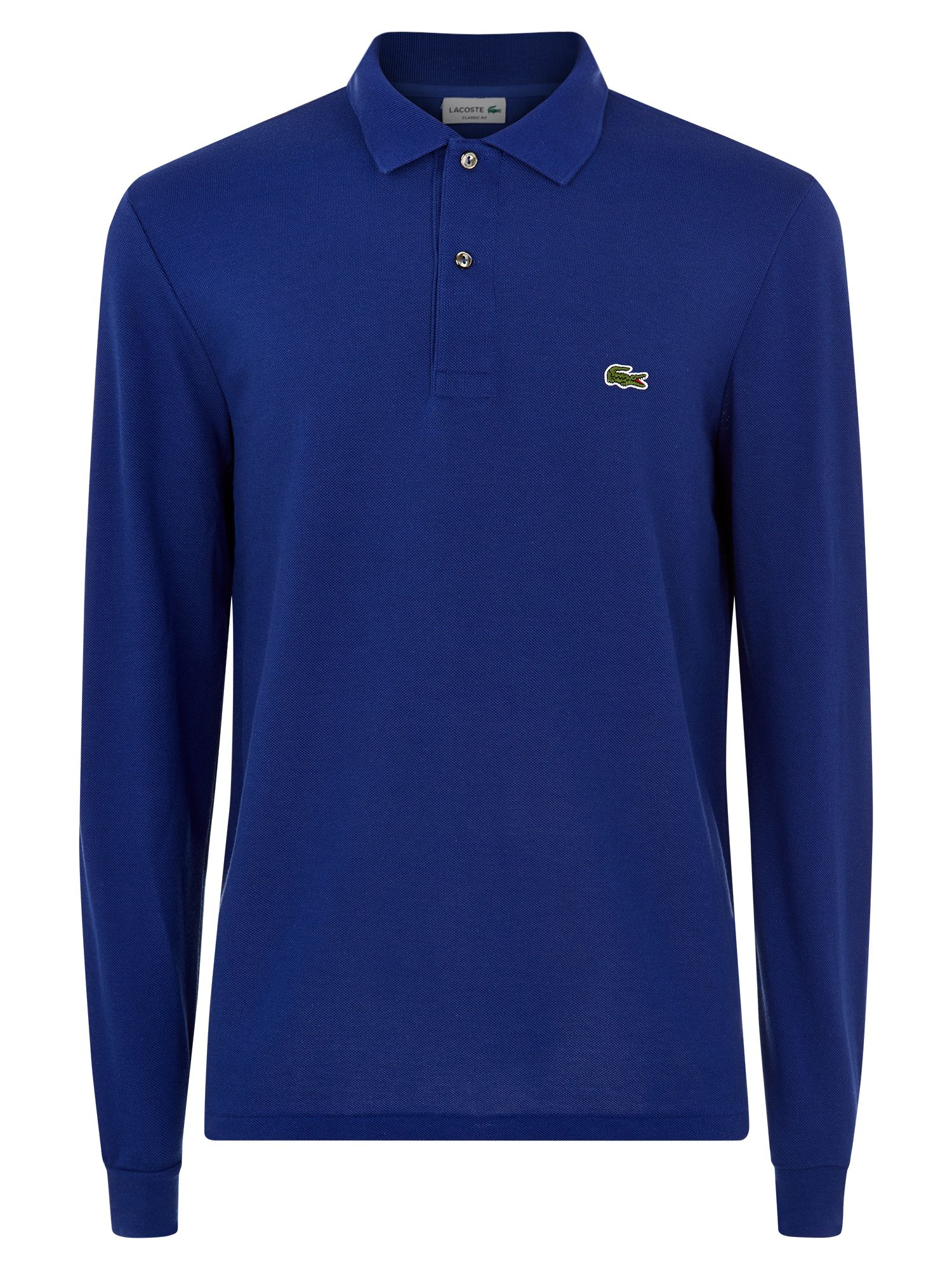 Men's Lacoste Lacoste Long Sleeve L.12.12 Polo, Ocean