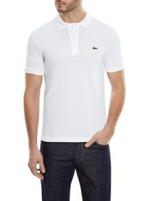 Lacoste Slim Fit Polo In Petit Pique