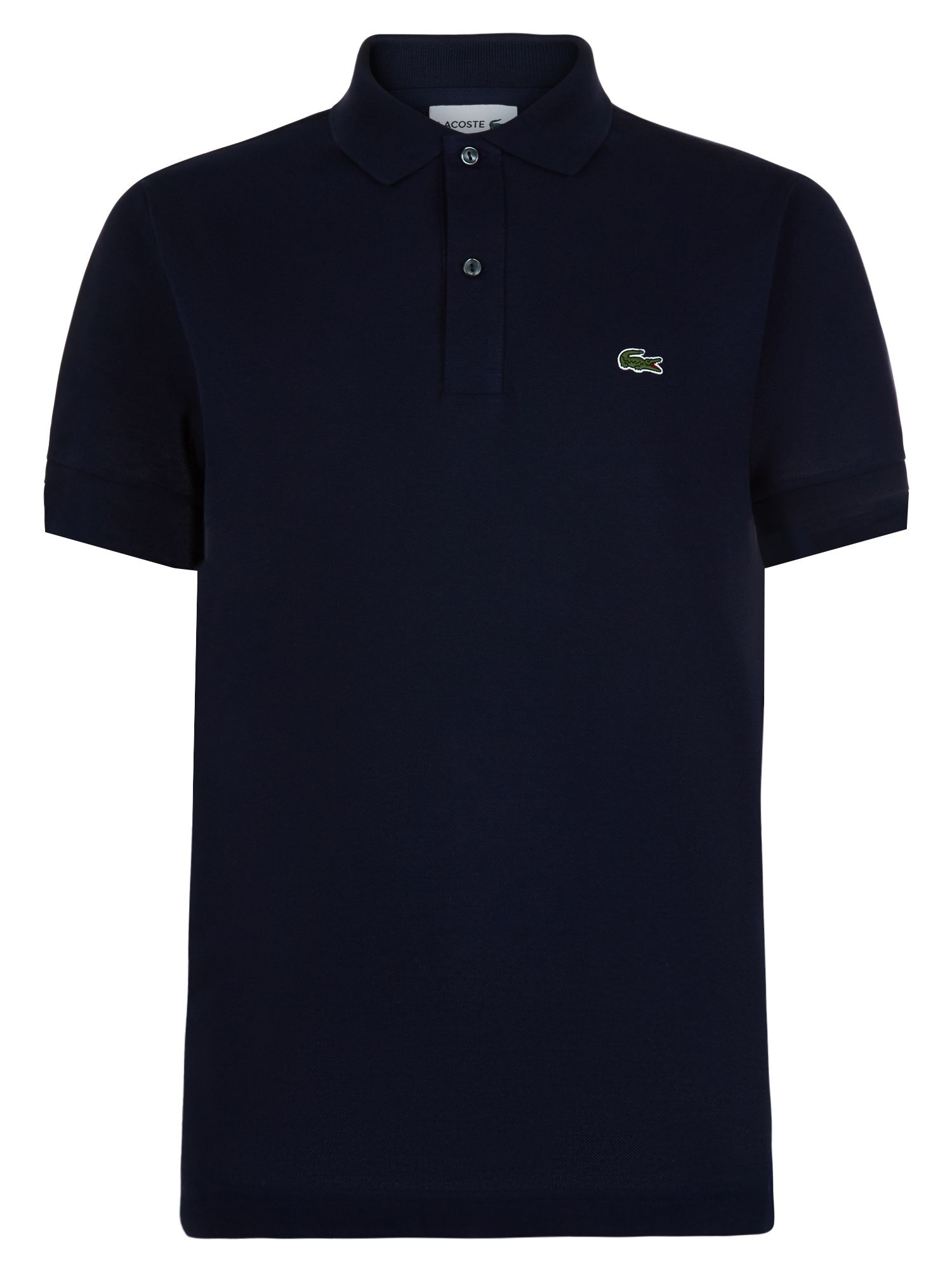 Men's Lacoste Slim Fit Polo in Pique, Midnight Blue