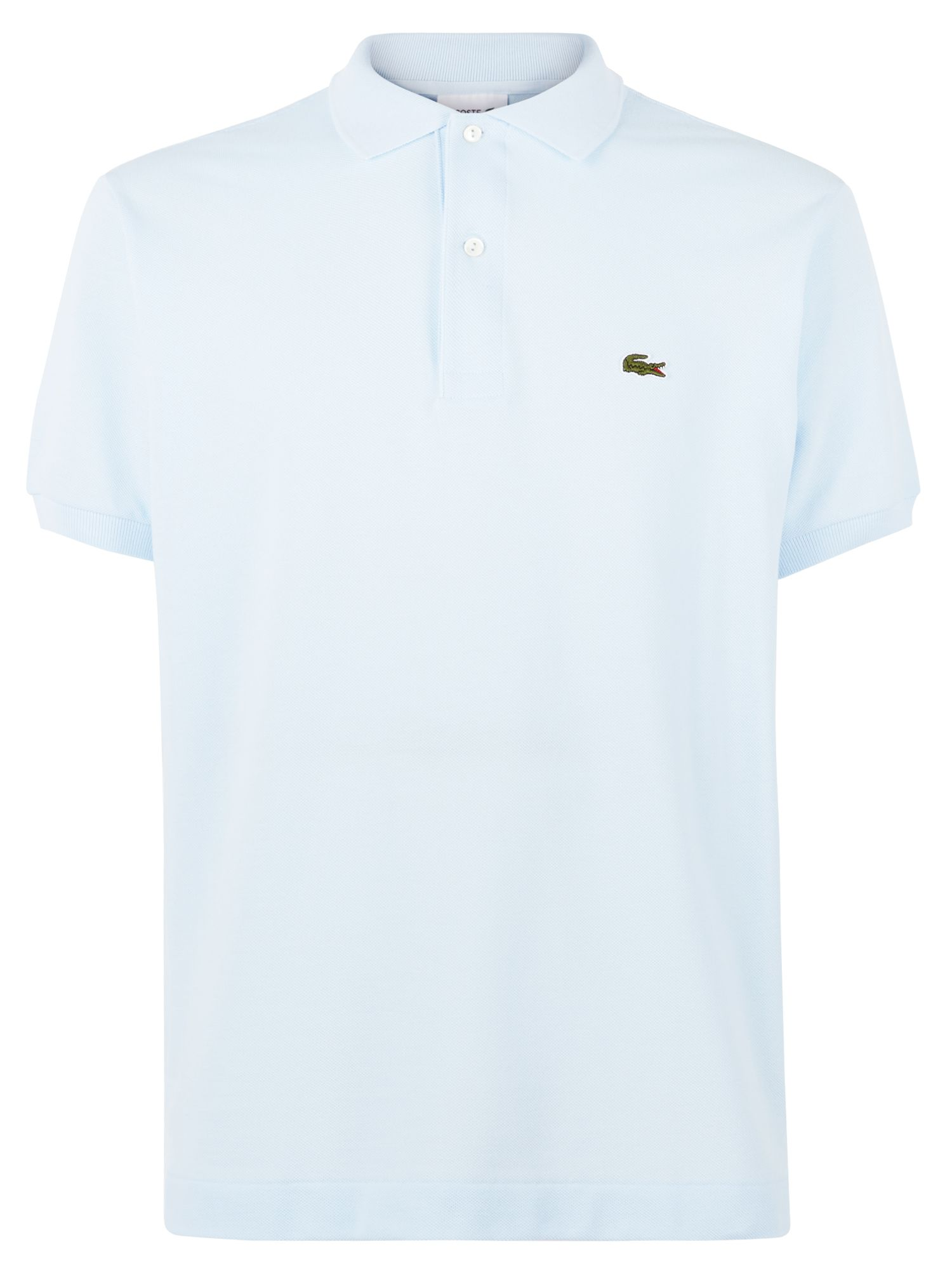 Men's Lacoste Slim Fit Polo in Pique, Blue