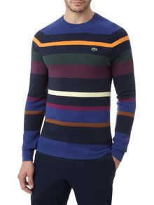 Striped Colour Block Jumper