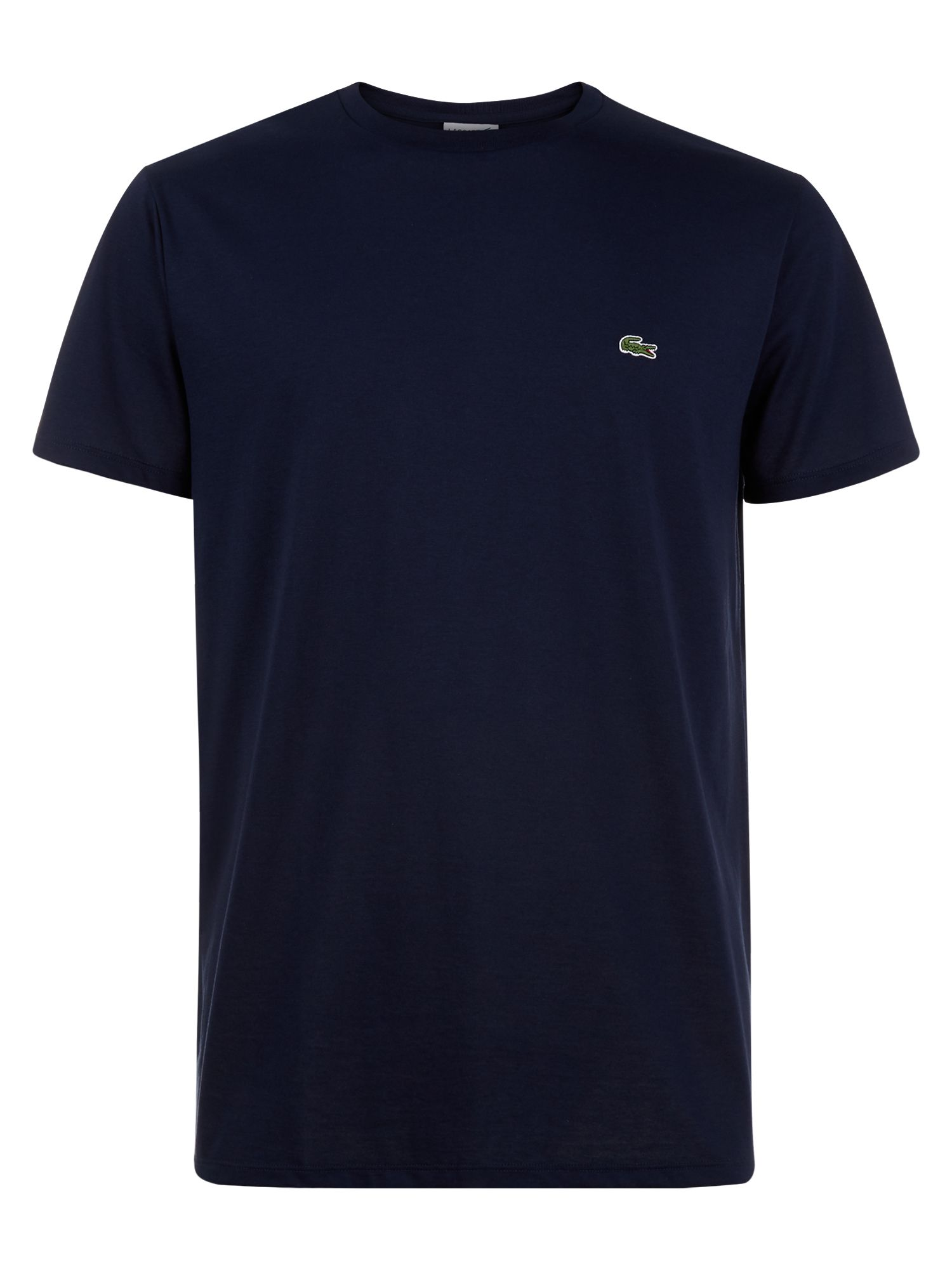 Men's Lacoste Crew Neck Cotton T-shirt, Ink