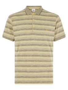 Stripe Polo Slim Fit Polo Shirt