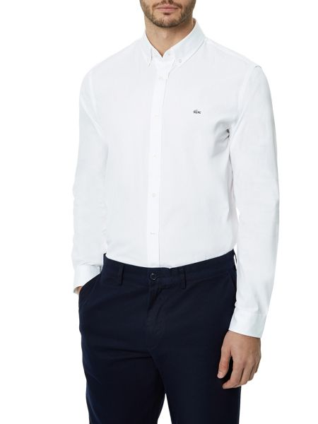Lacoste Regular fit pinpoint shirt