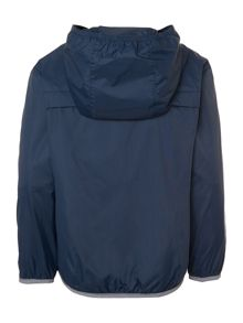 Boys hooded shower proof jacket
