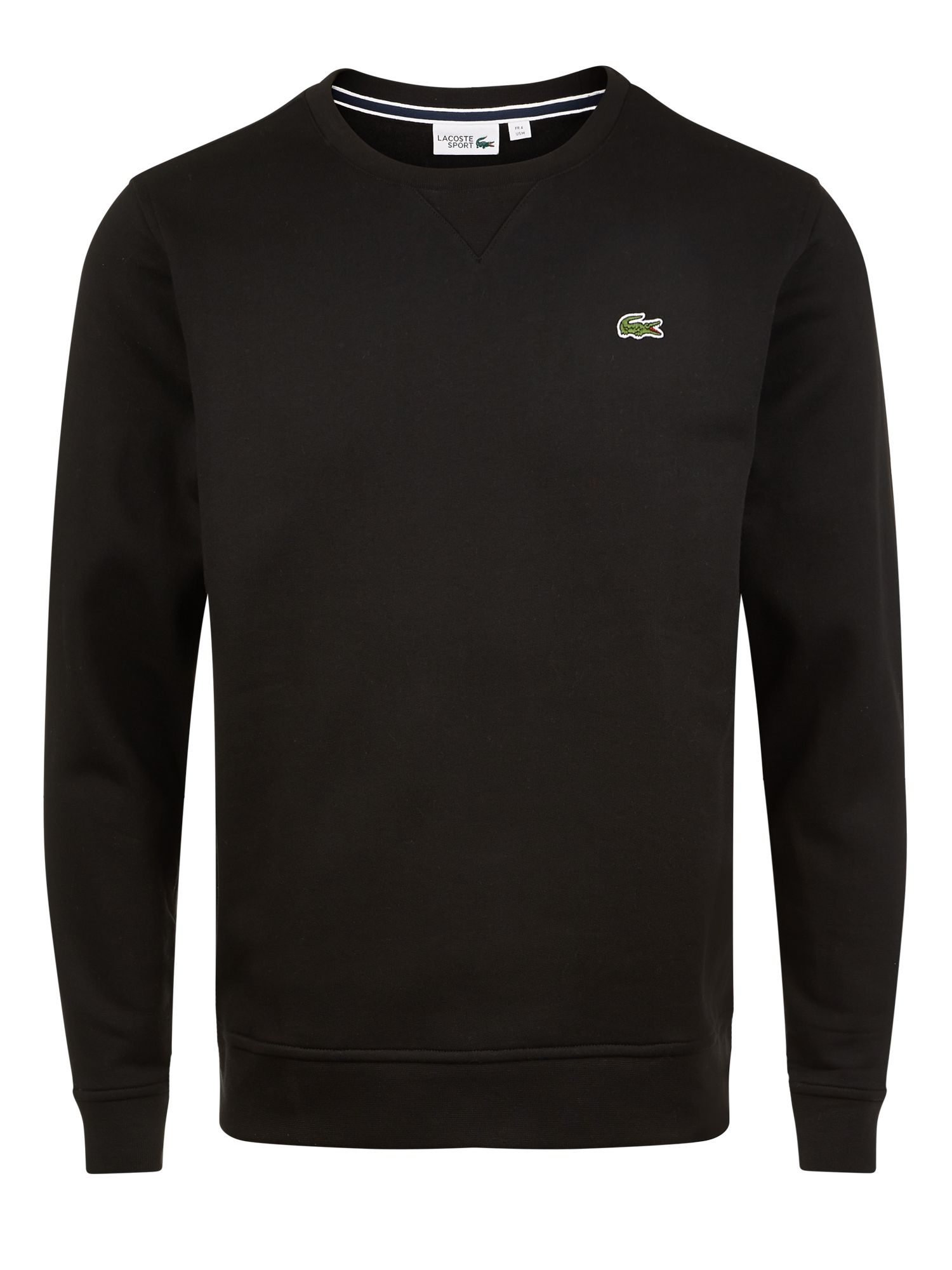 Men's Lacoste Lacoste Crew Neck Fleece Sweatshirt, Black