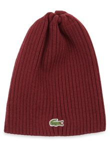 Ribbed Knitted branie hat