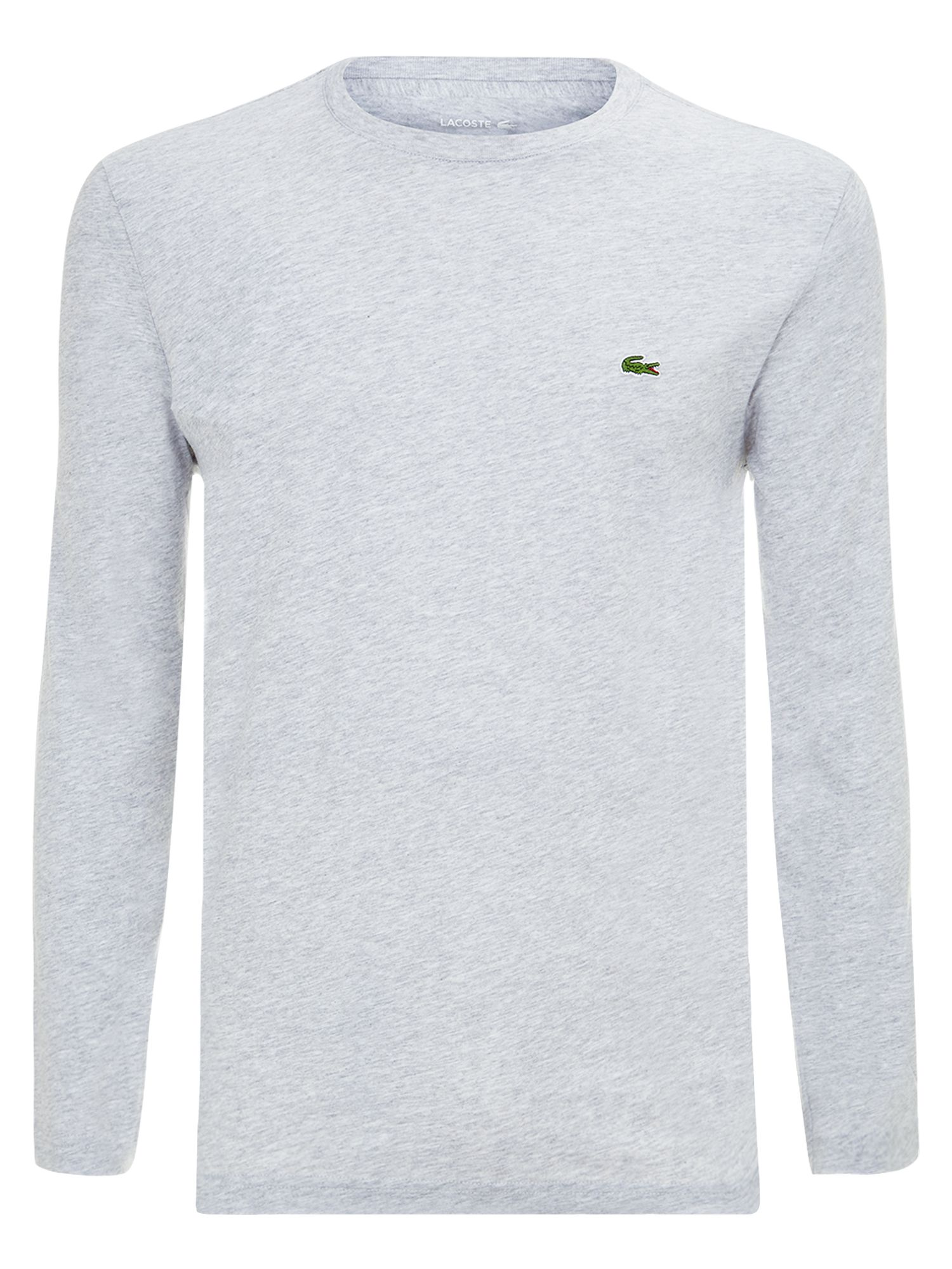 Men's Lacoste Long sleeved t-shirt, Grey