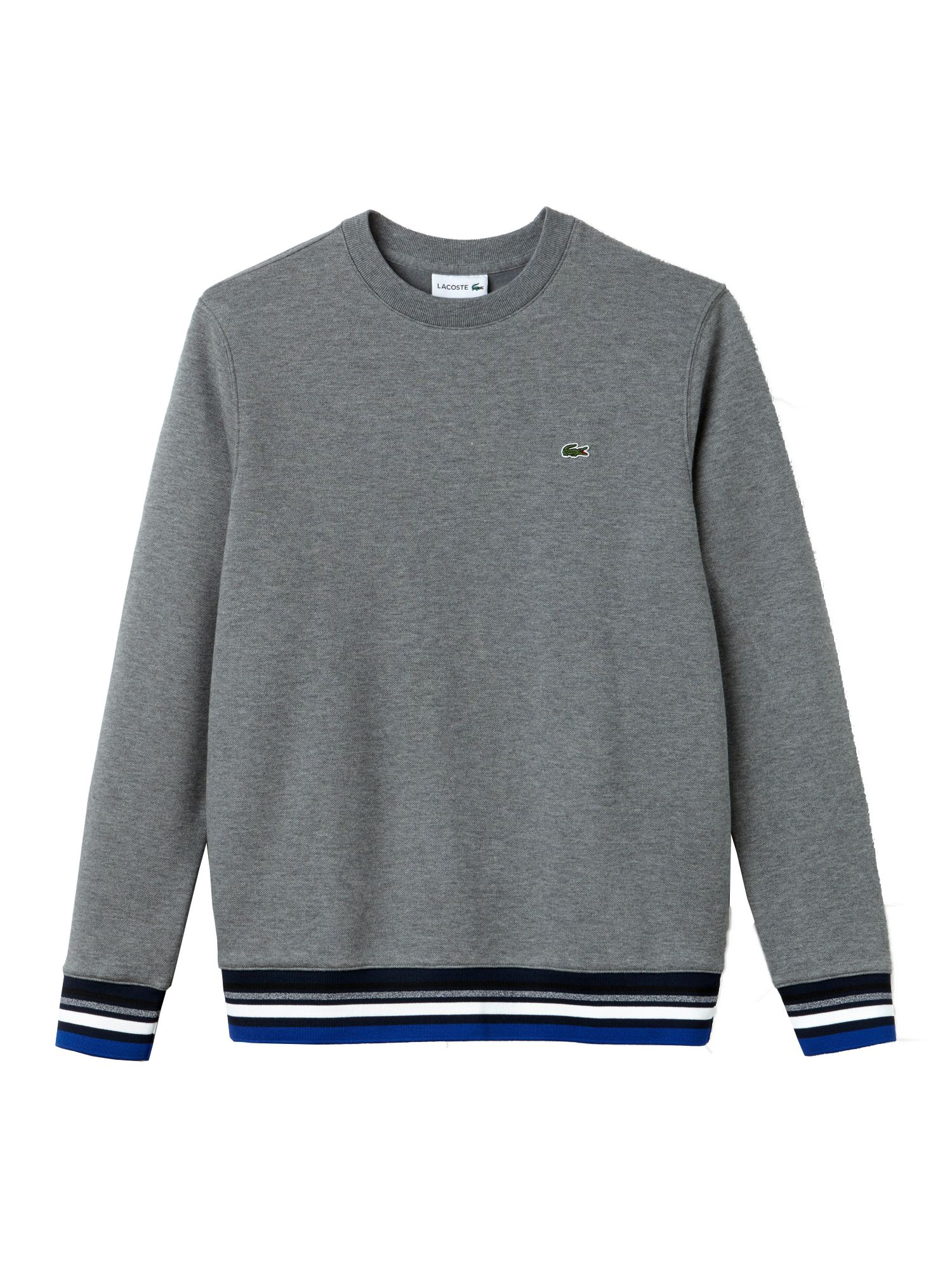 Men's Lacoste Contrast Detail Sweatshirt, Galaxite Chine