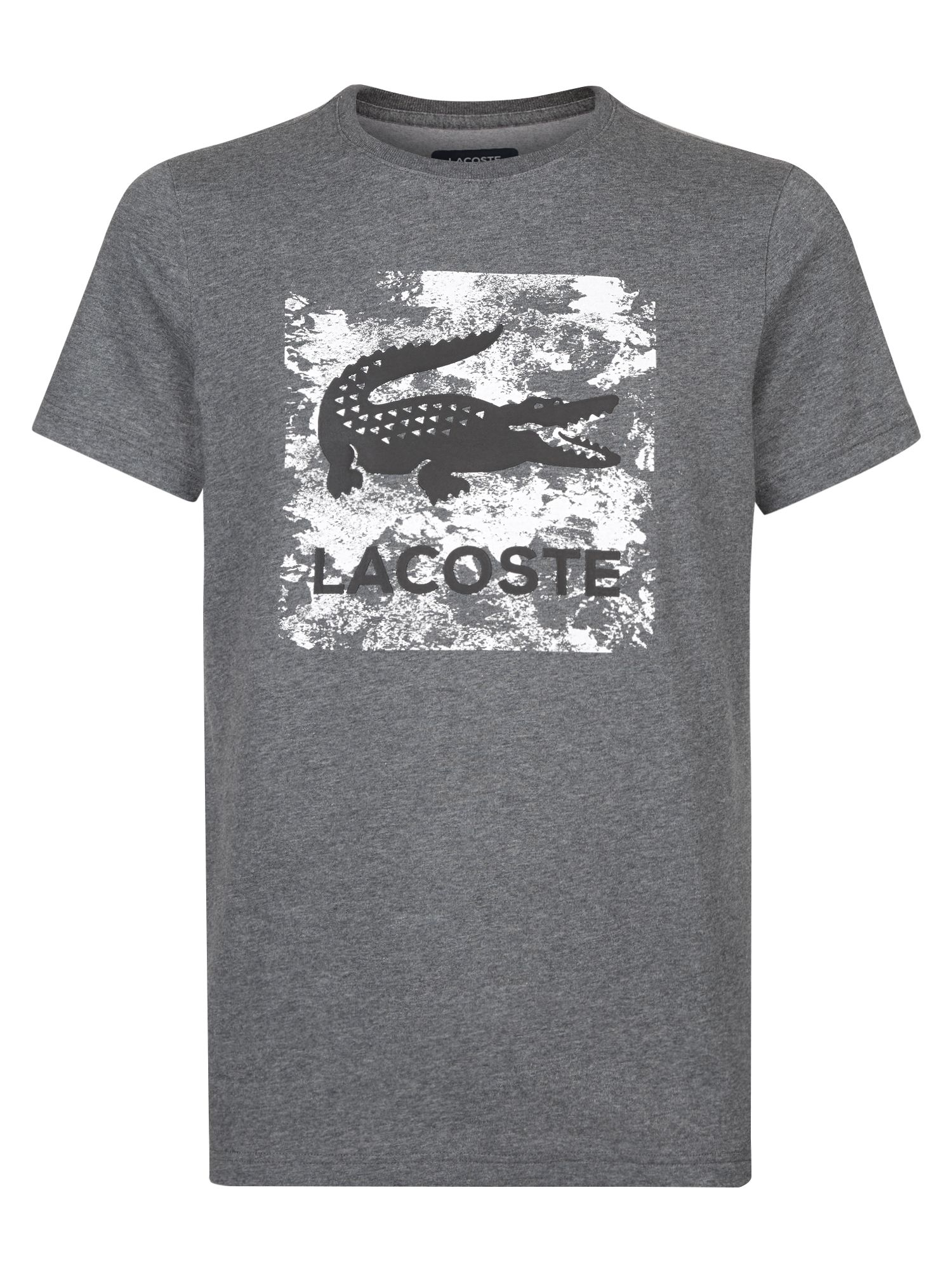 Men's Lacoste Logo T-Shirt, Black/White