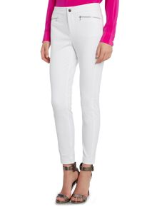 Lauren Ralph Lauren Shadrina slim leg trouser with zip pockets