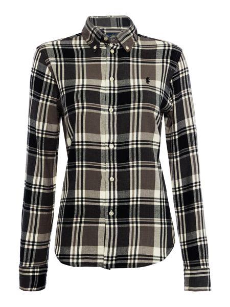 Polo Ralph Lauren Check shirt with pony
