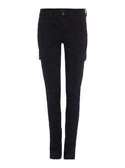 Slim cargo trousers with pocket details