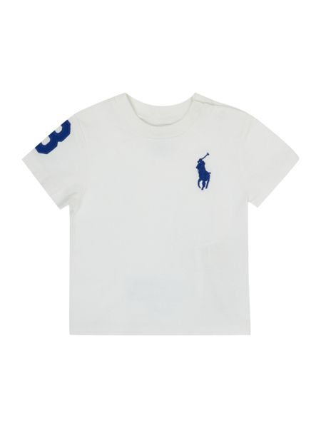 Polo Ralph Lauren Baby Boy Crew Neck T-shirt with Big Pony Logo
