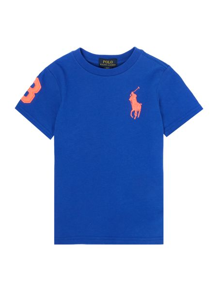 Polo Ralph Lauren Boys Crew Neck T-shirt with Big Pony Logo