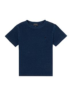 Boys Crew Neck Mesh T-shirt