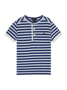 Polo Ralph Lauren Boys Nautical Stripe Henley T-shirt