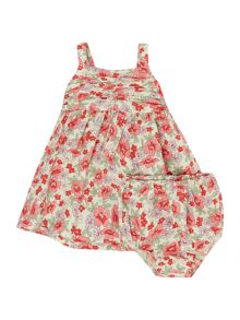 Polo Ralph Lauren Baby Girls floral Printed Dress