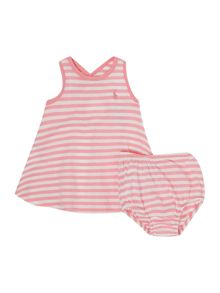 Polo Ralph Lauren Baby Girls Stripe Jersey Dress