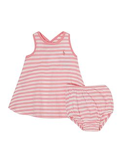 Baby Girls Stripe Jersey Dress