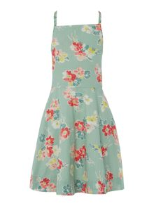 Polo Ralph Lauren Girls Floral Print Skater Dress