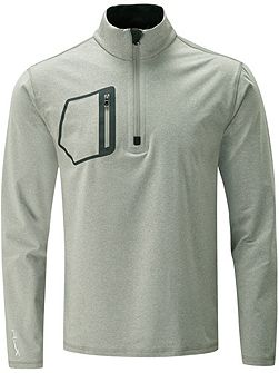 Half Zip Pocket Jumper