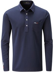 RLX Ralph Lauren Long Sleeved Pocket Polo