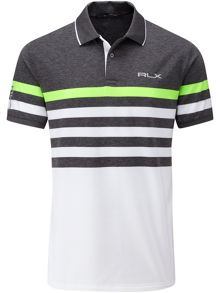 RLX Ralph Lauren Engineered Stripe Polo