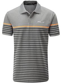 RLX Ralph Lauren Striped Engineered Polo