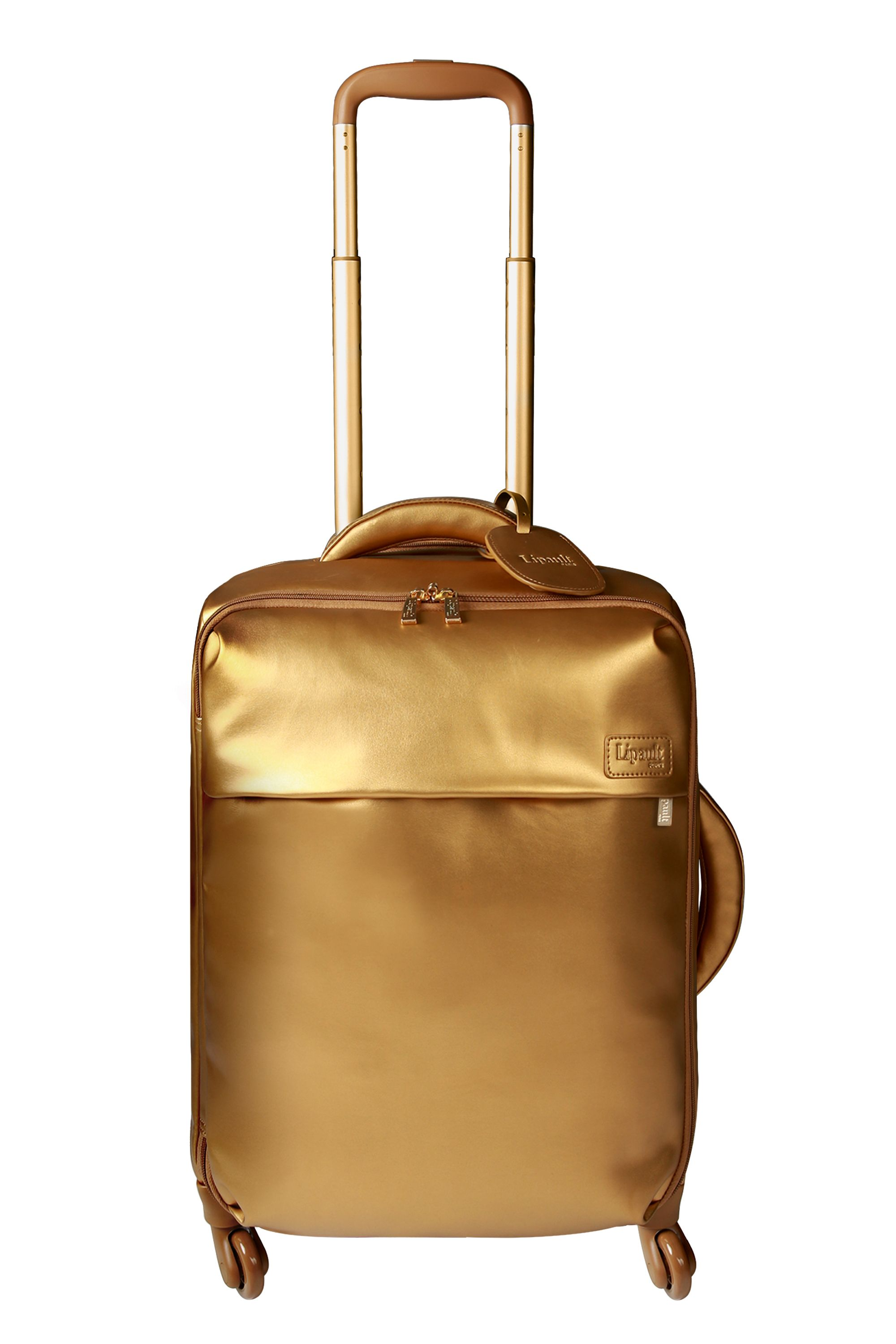 Lipault Miss Plume Gold Cabin 55cm Spinner Suitcase, Gold