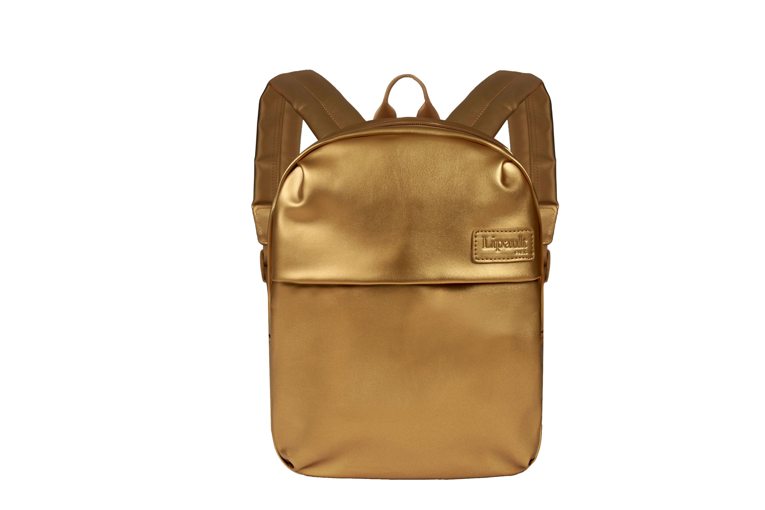 Lipault Miss Plume Gold Backpack, Gold